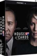 House Of Cards - Stagioni 1-4 ( 16 Blu - Ray Disc )